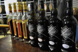 fortified wine display