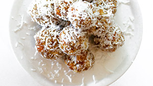 fruit coconut truffle balls