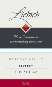 Leveret Shiraz Returns – Vintage 2010