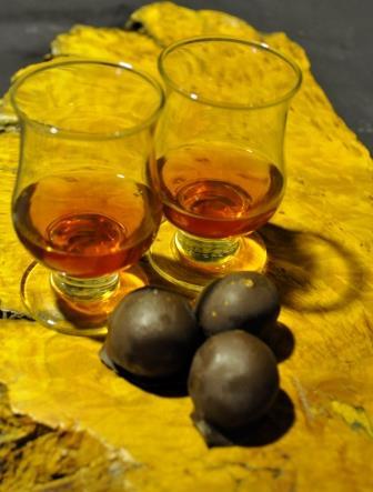 Winter: Chocolate Truffle & Wine Tasting