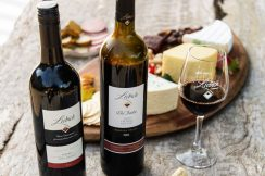 Bottle Cheese Platter The Darkie Shiraz 2009 Leveret Shiraz 2014