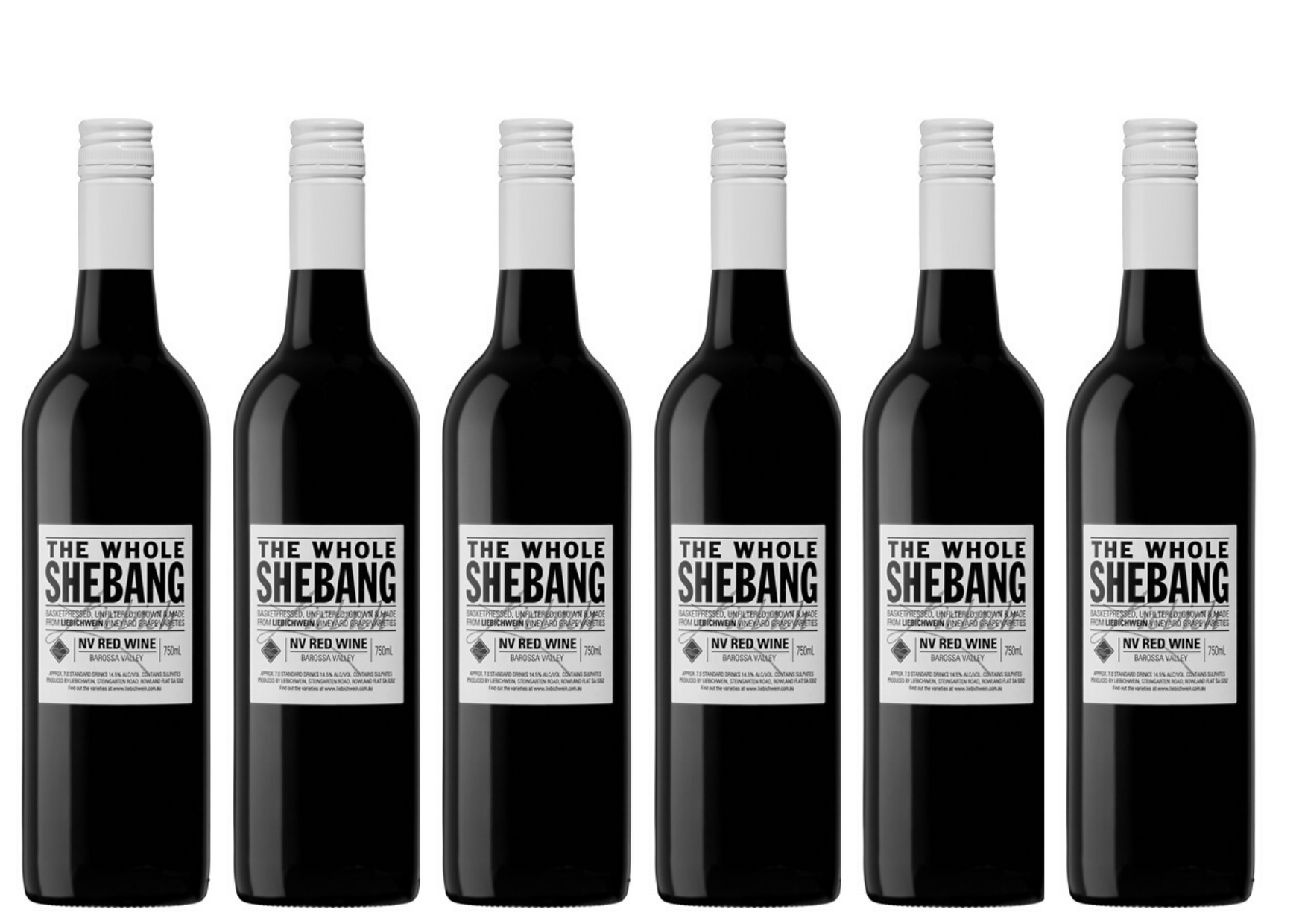 The Whole Shebang 6 bottles transparent background ls