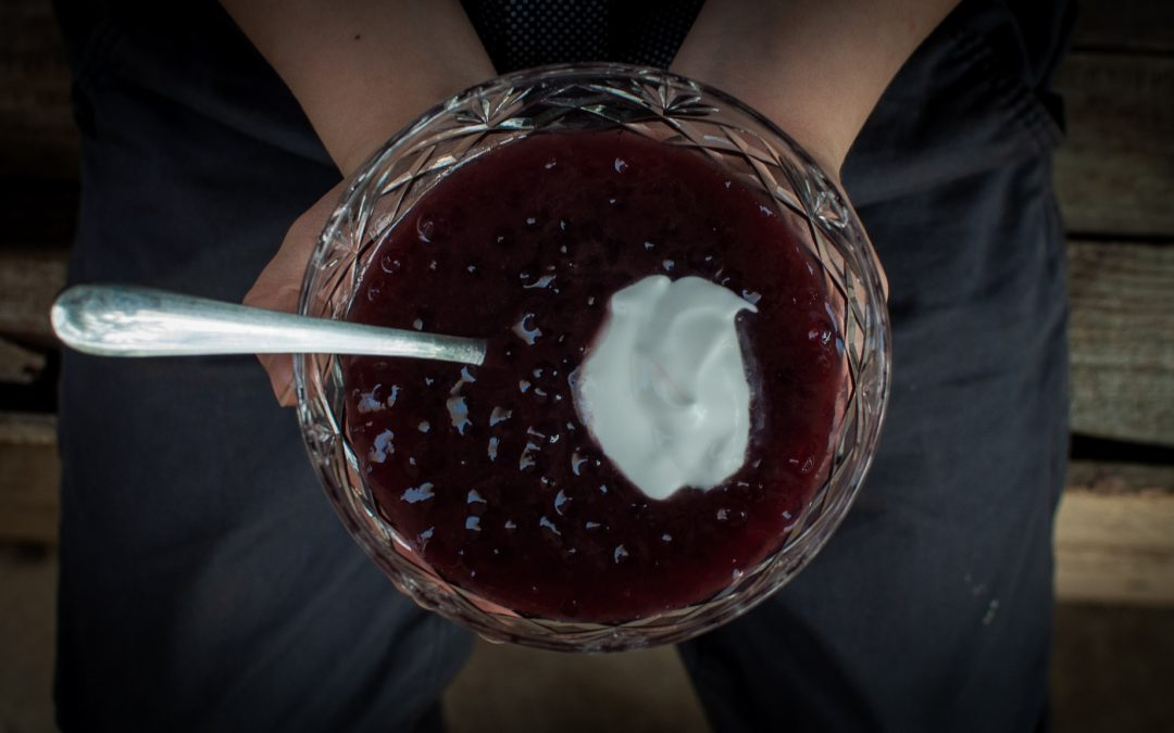 Recipe: Rote Grutze, Barossa Grape Dessert