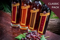 premium aged fortified wine 4 bottles ls image