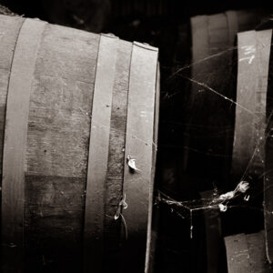 Fortified wine barrel cobwebs Liebichwein