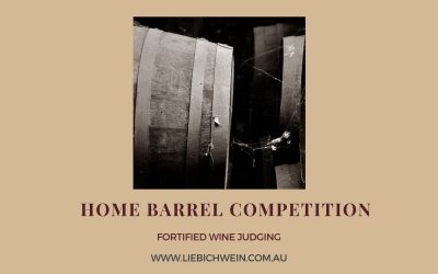 Home Barrel Competition: Is your fortified wine the best?