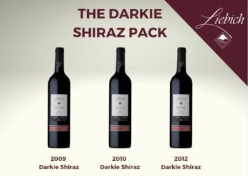 Darkie Shiraz 3 Pack Liebichwein Barossa